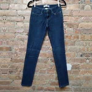 Dark Blue Stretchy Skinny Jeans